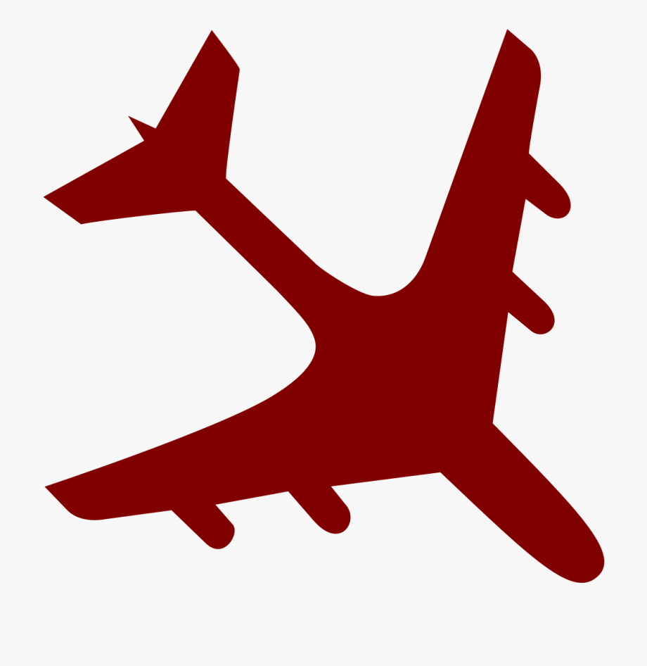 Pilot clipart airplane crash. File svg free