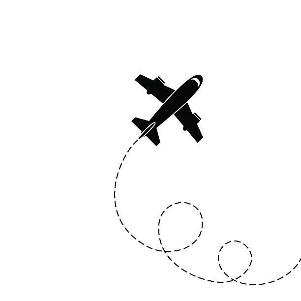 Clipart plane flight. Flying station