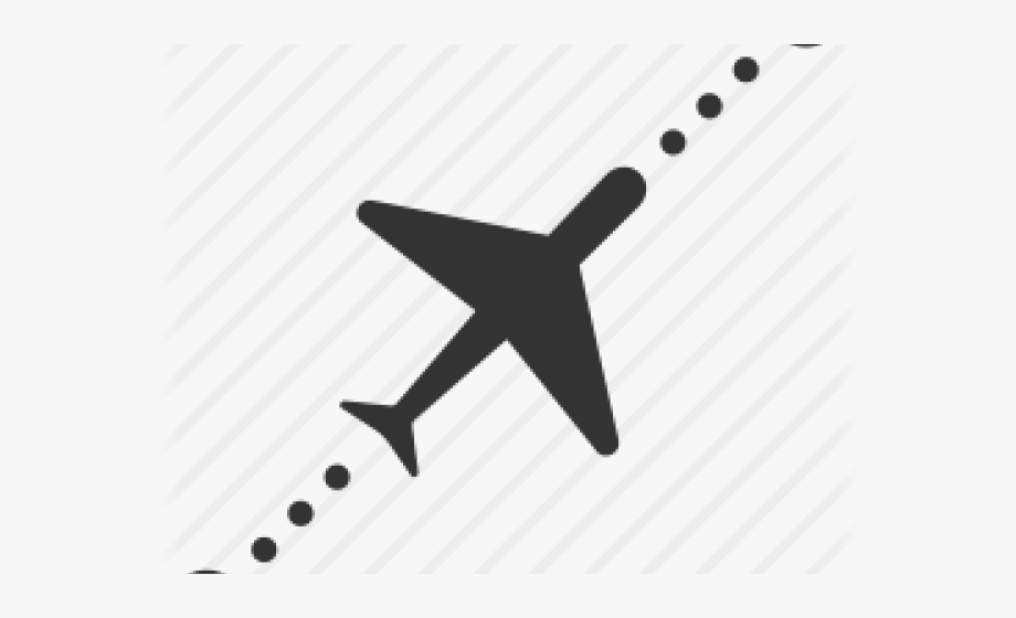 Flying route icons png. Clipart plane flight