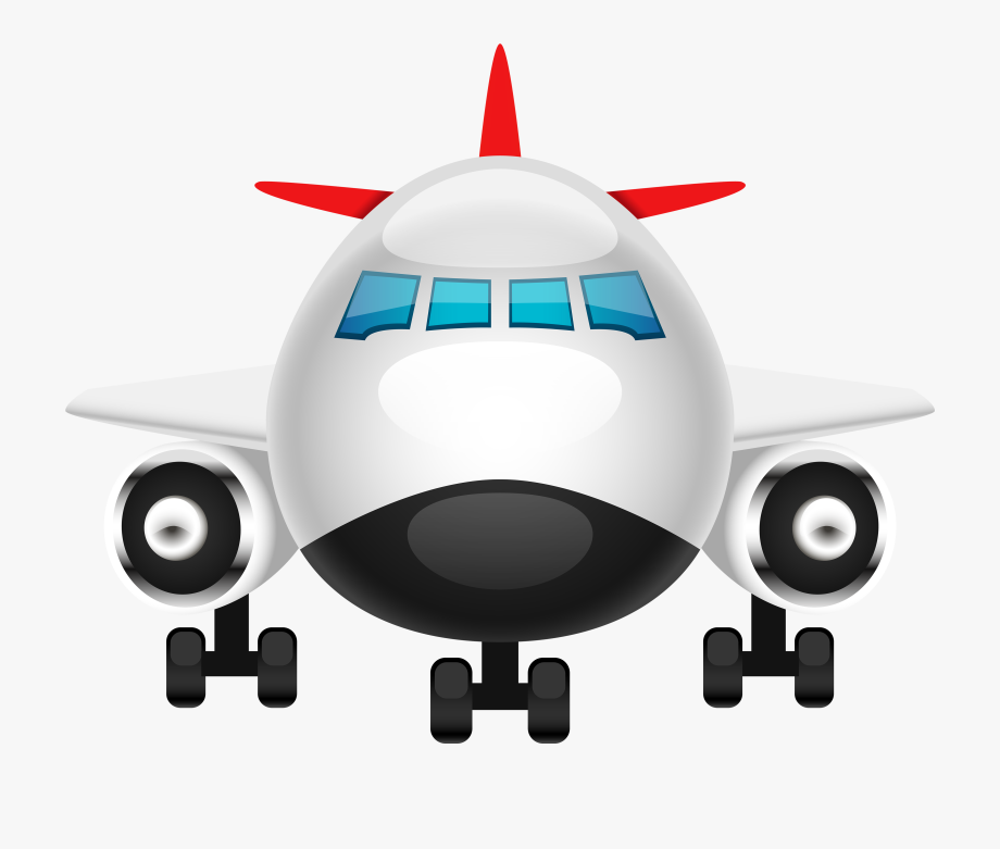Png airplane view . Clipart plane front