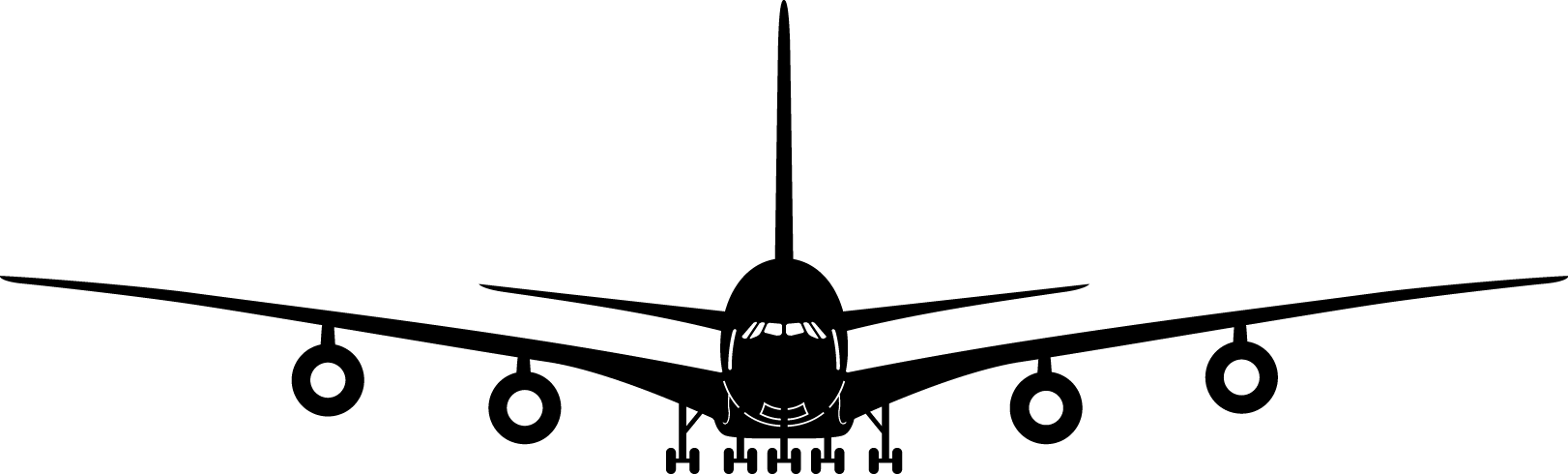 Plane clipart front.  collection of airplane