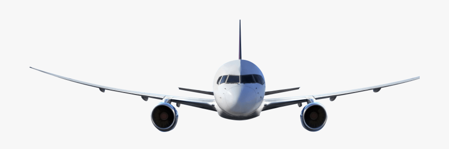 Clipart plane front. Aircraft airplane view png