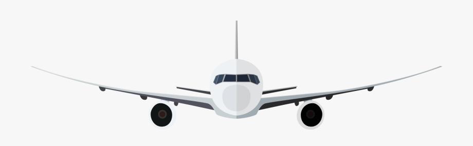 Airplane clip art aeroplane. Clipart plane front