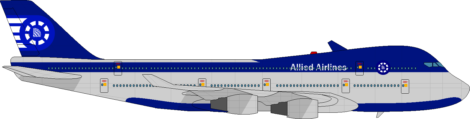 Clipart plane jumbo jet. Nationstates dispatch allied airlines