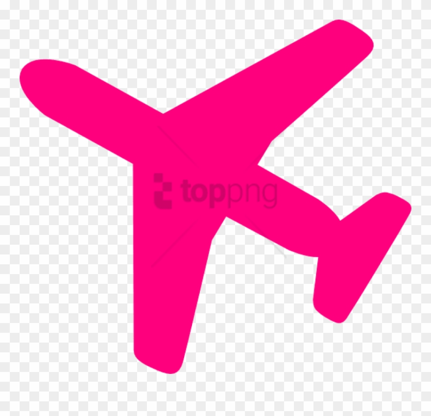 collection of airplane. Clipart plane pink