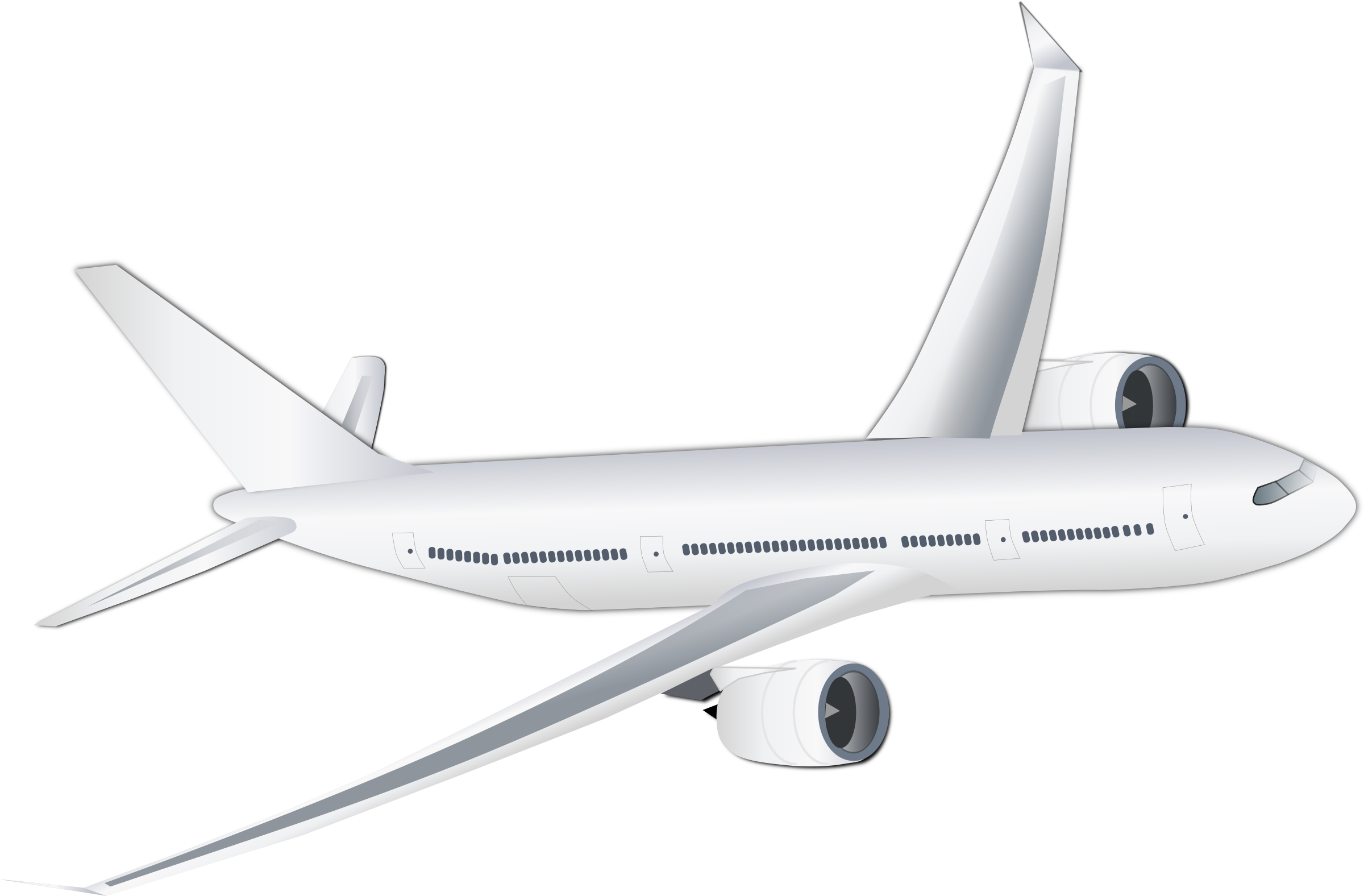 White clipart airplane. Plane big image png