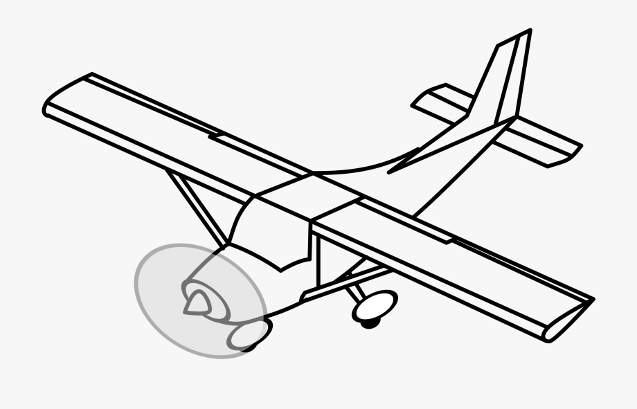 Airplane propeller prop plane. Engine clipart aircraft engine