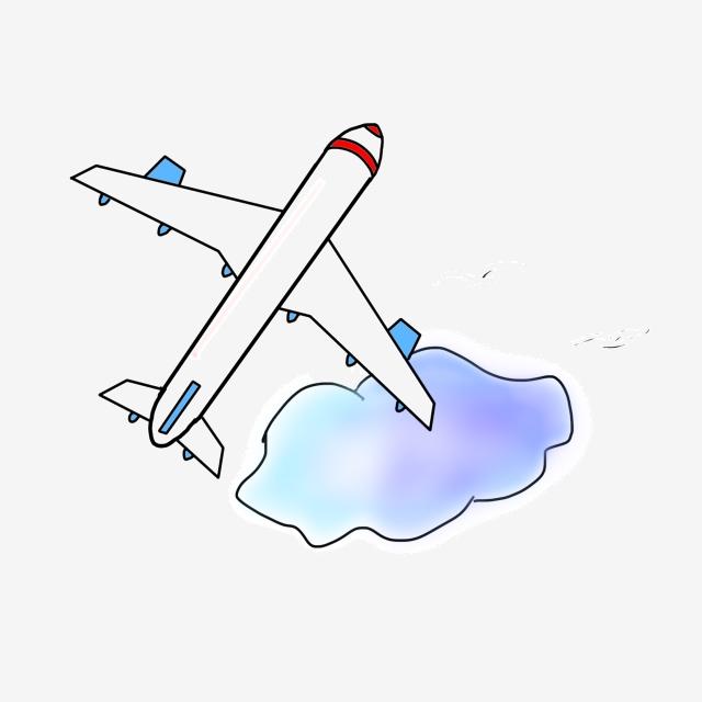 Travel tool aircraft tools. Clipart plane summer