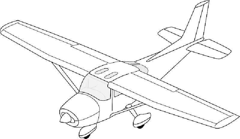 Plane clipart tiger moth. Old airplane drawing at