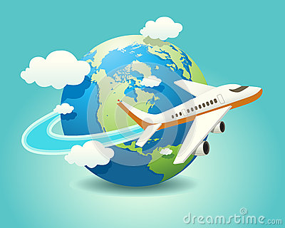 free travel cliparting. Clipart plane tourist