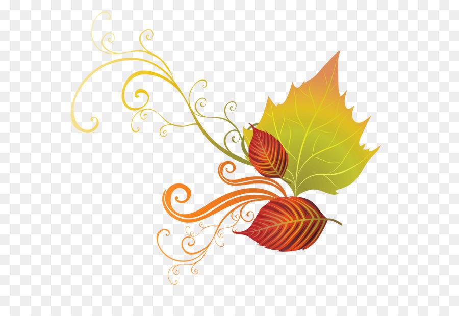 Autumn leaf color clip. Clipart png