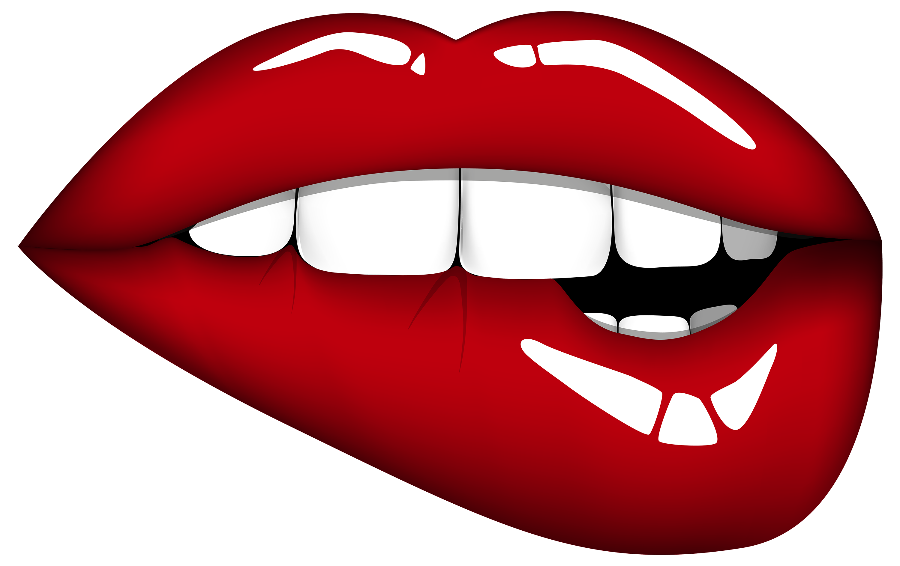 Red mouth image best. Clipart png