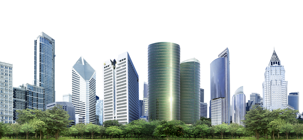 Building png images free. Skyline clipart street city