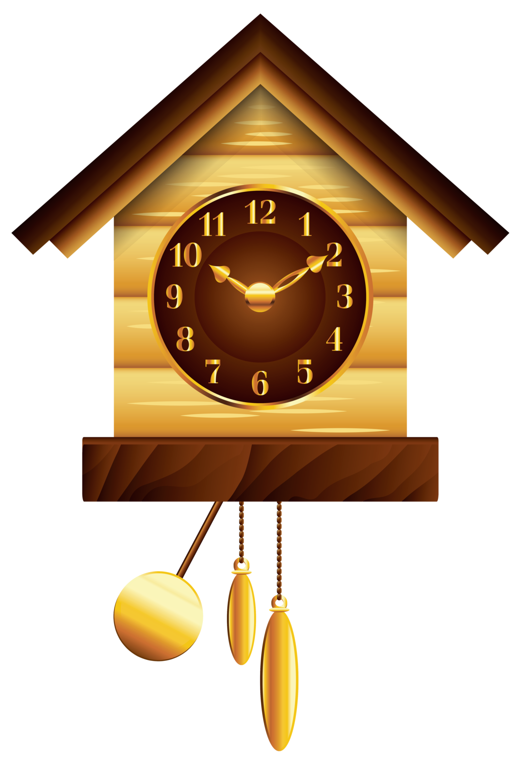 Clipart png clock. Cuckoo clip art