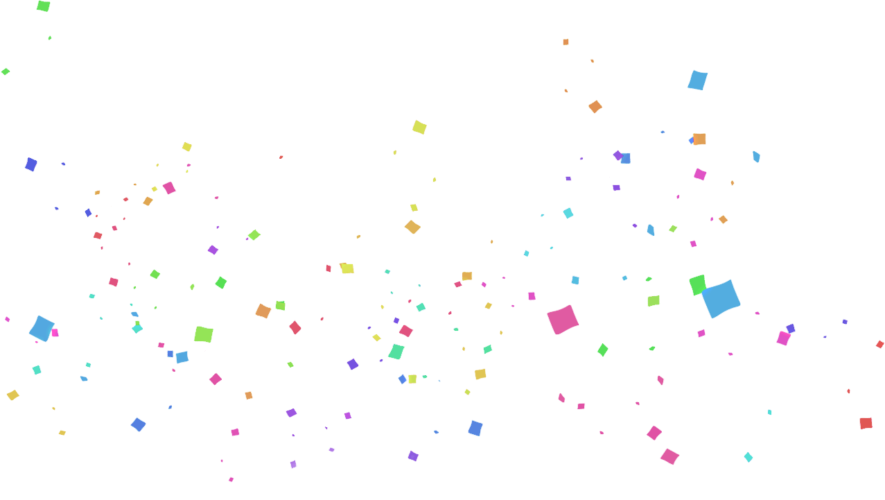 Confetti vector png. Images transparent pictures only