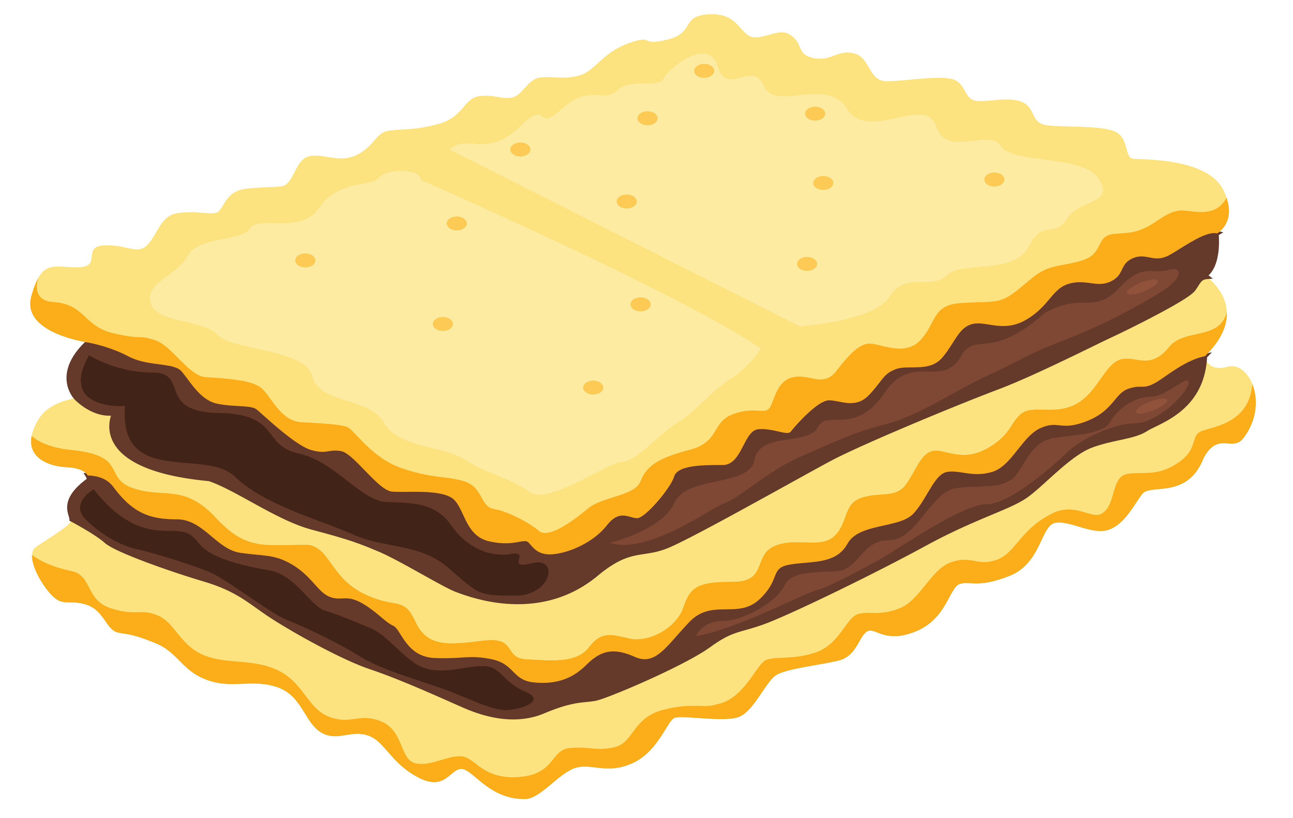 Sandwich biscuit with chocolate. Clipart png cookie