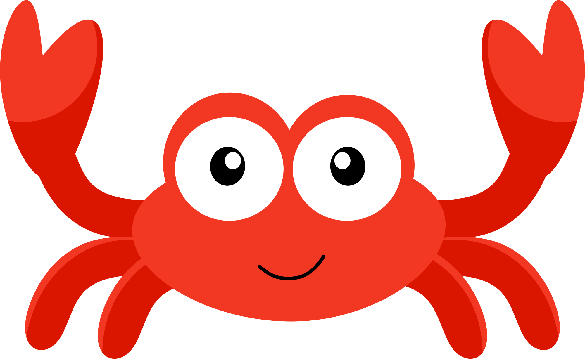 Baby png transparent images. Crab clipart red thing