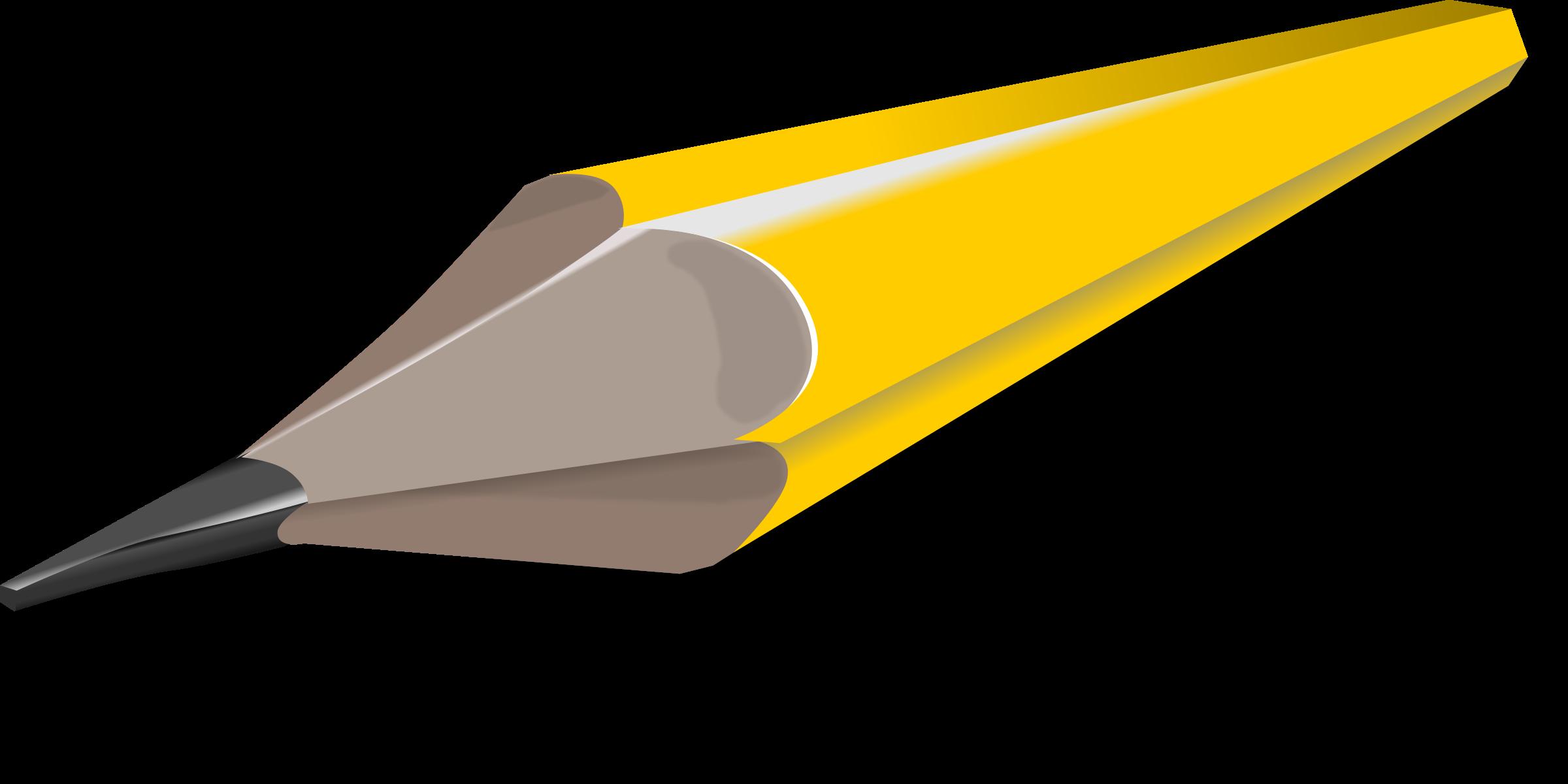Pencil big image png. Clipart writing crayon