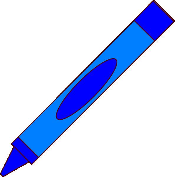 crayon clipart cartoon