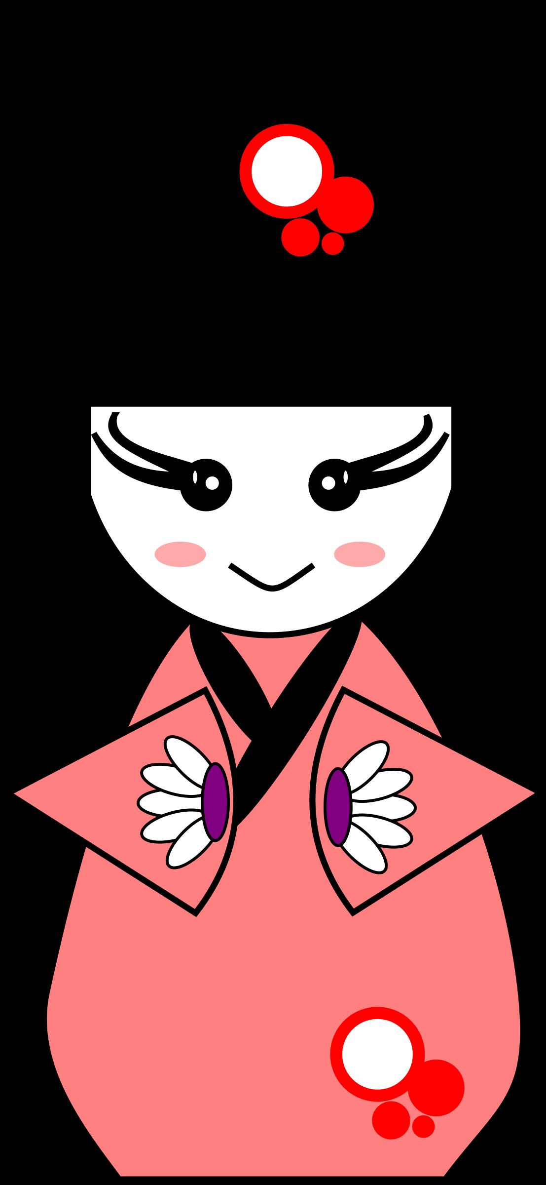 Clipart png doll. Geisha big image