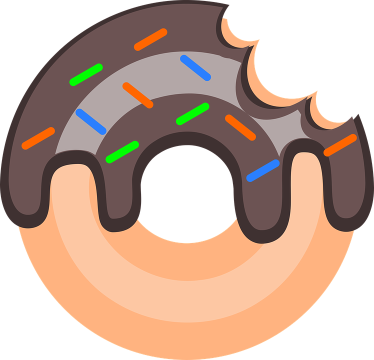 Donut clipart logo. Png image purepng free