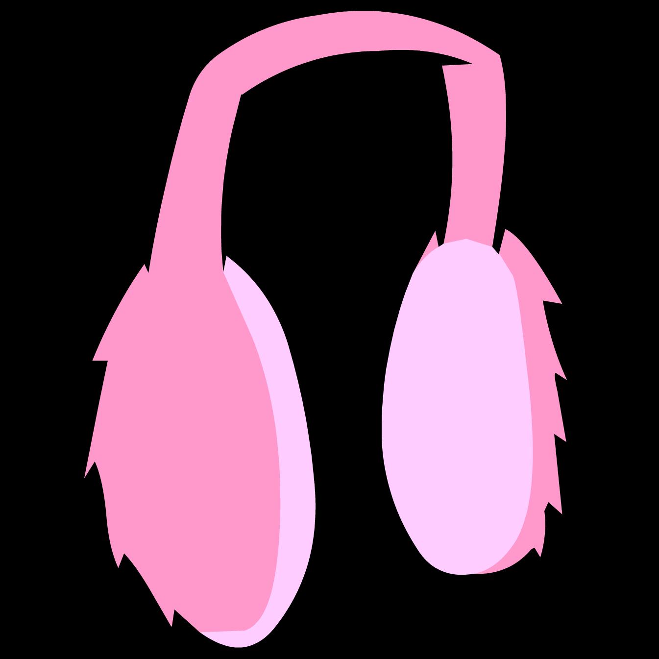 Winter clipart pink. Image pinkearmuffs png club