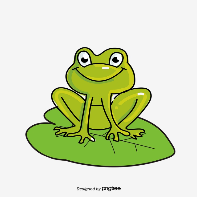Frog clipart green frog. Png images download resources