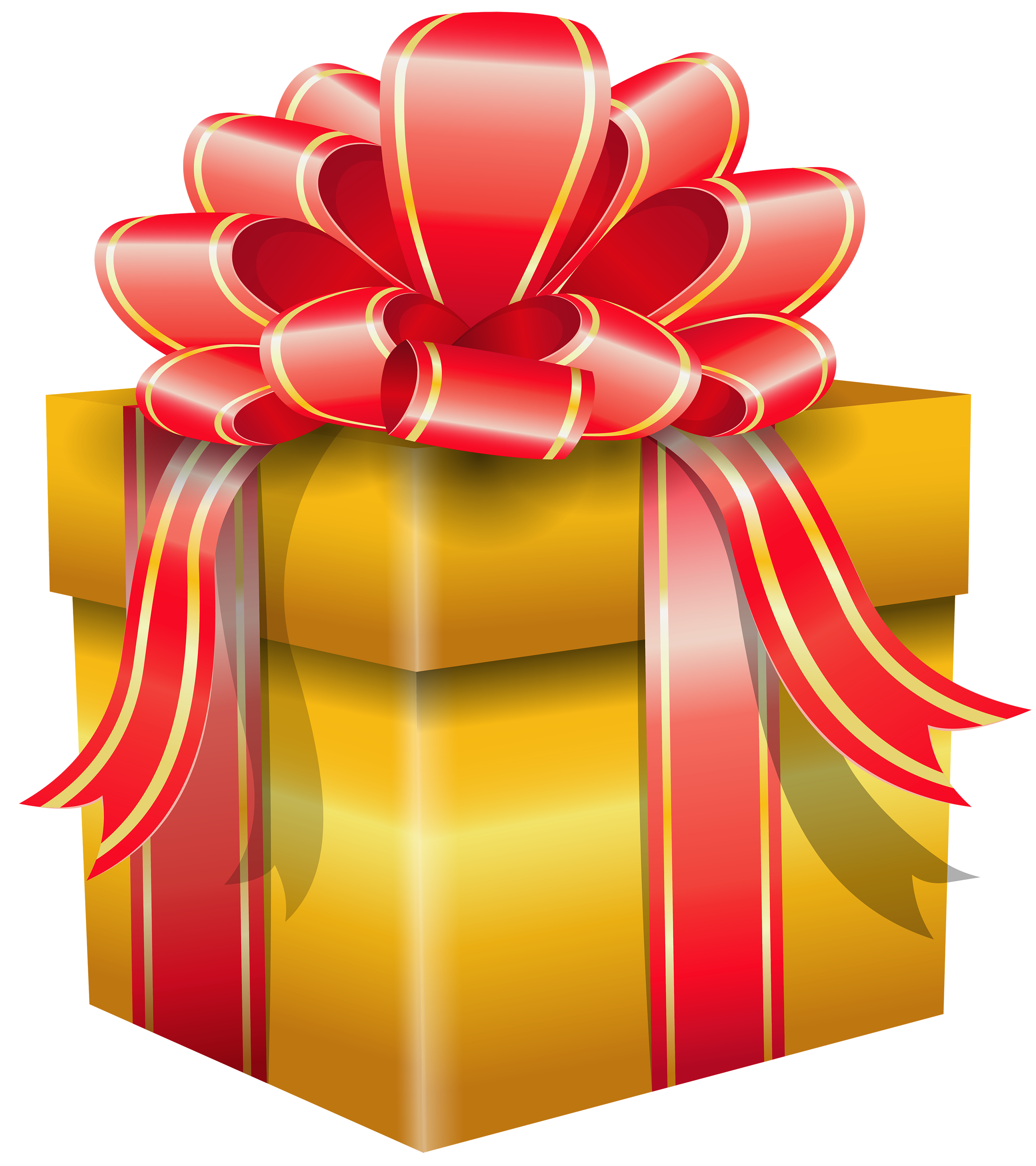 Clipart present special gift. Yellow box png best
