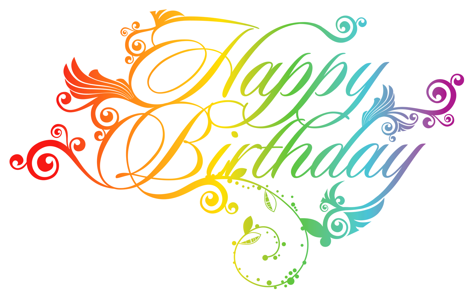 Design elements free text. Clipart png happy birthday