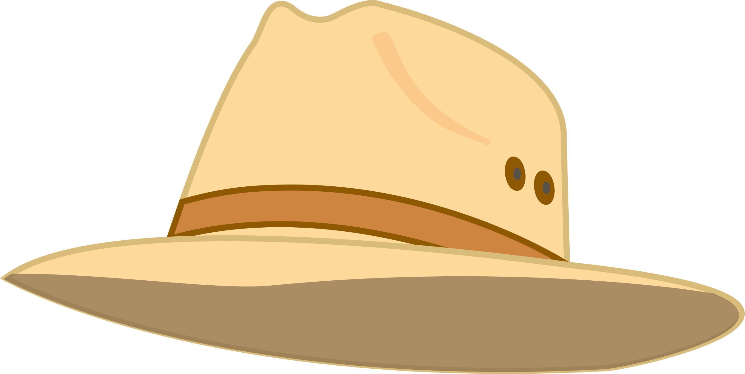 collection of hat. Hats clipart tourist
