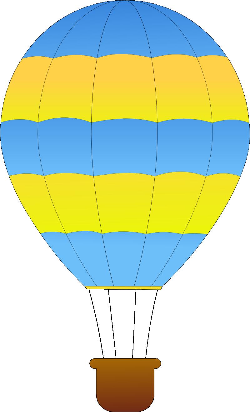 Hot air balloon clip. Kite clipart yellow