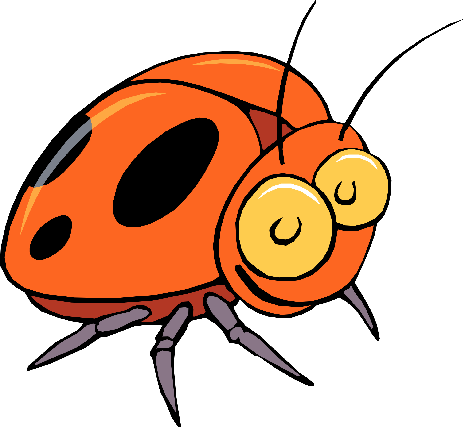 Kid clipartix . Kids clipart insect