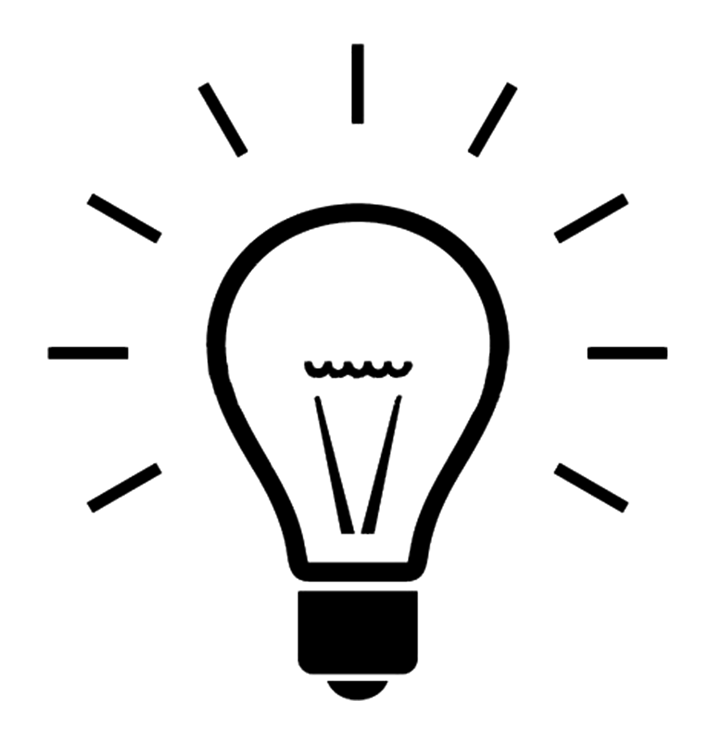 Light bulb png mart. Lightbulb clipart silhouette