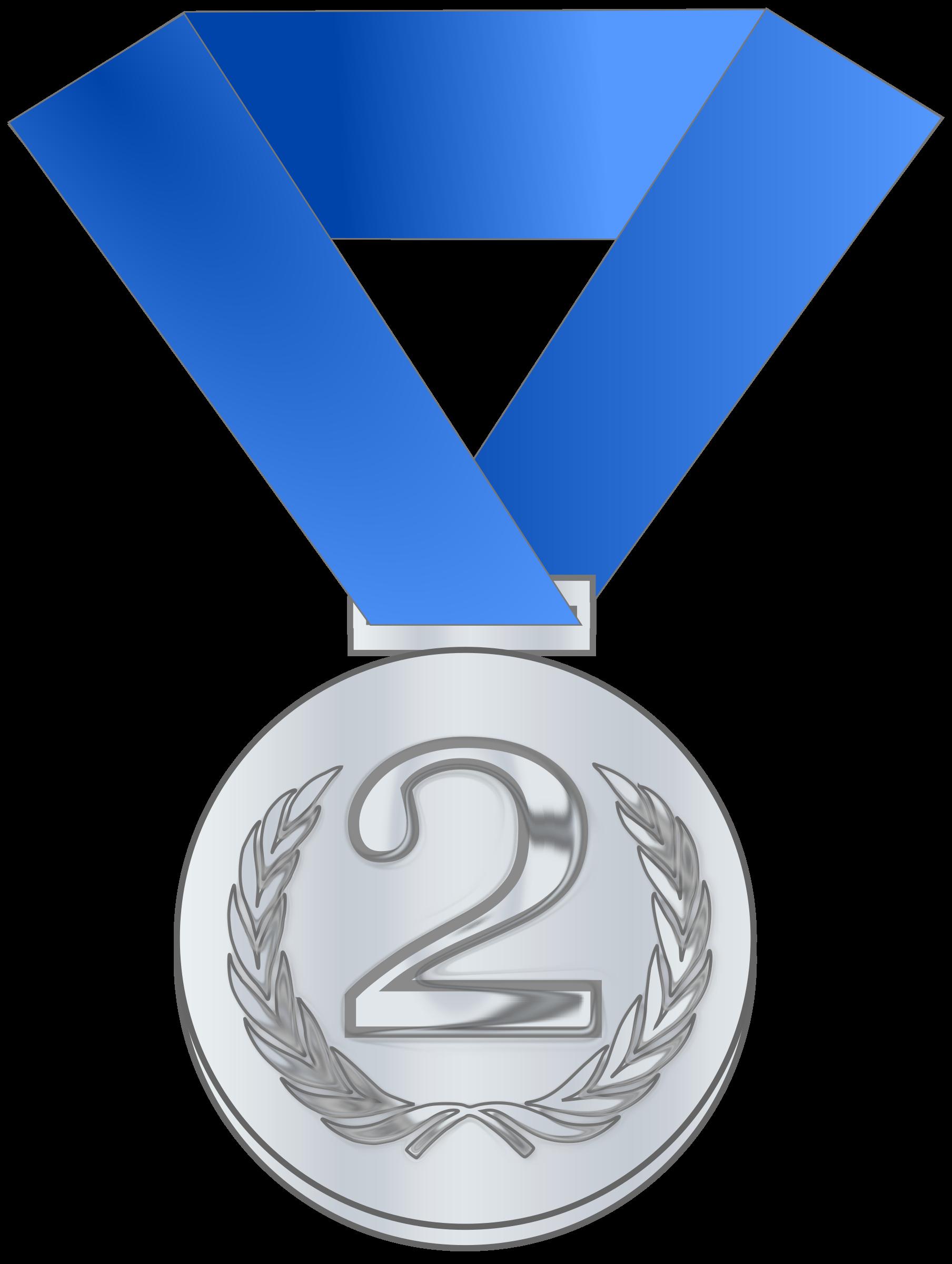 Medal award big image. Laurel clipart gold silver bronze
