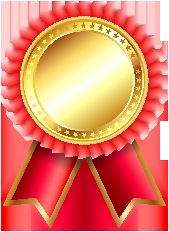 Receptionist clipart clip art. Red award rosette png