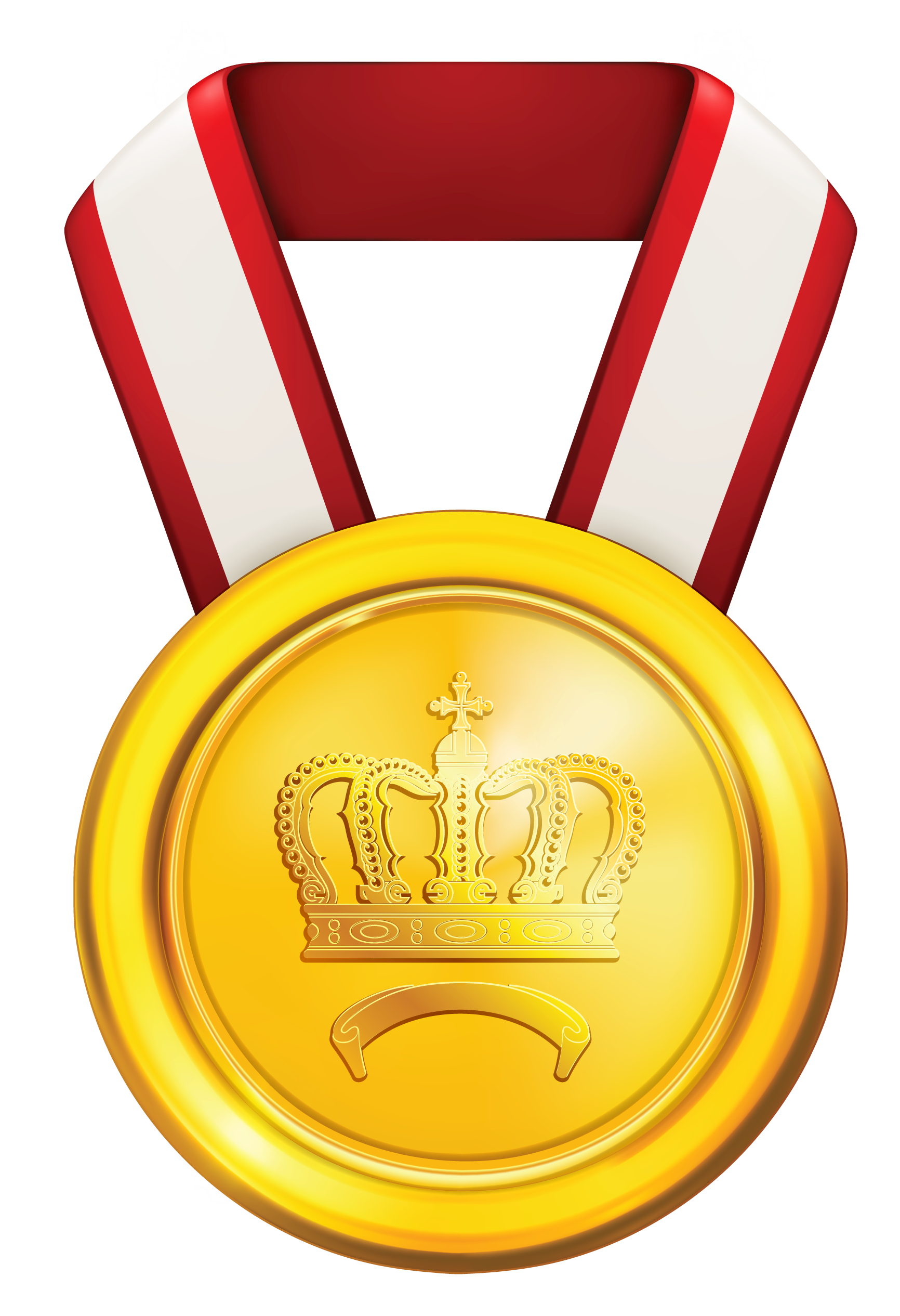 Medal clipart object. Of honor gold clip