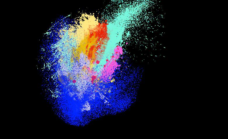 Color effects png transparent. Splash clipart burst