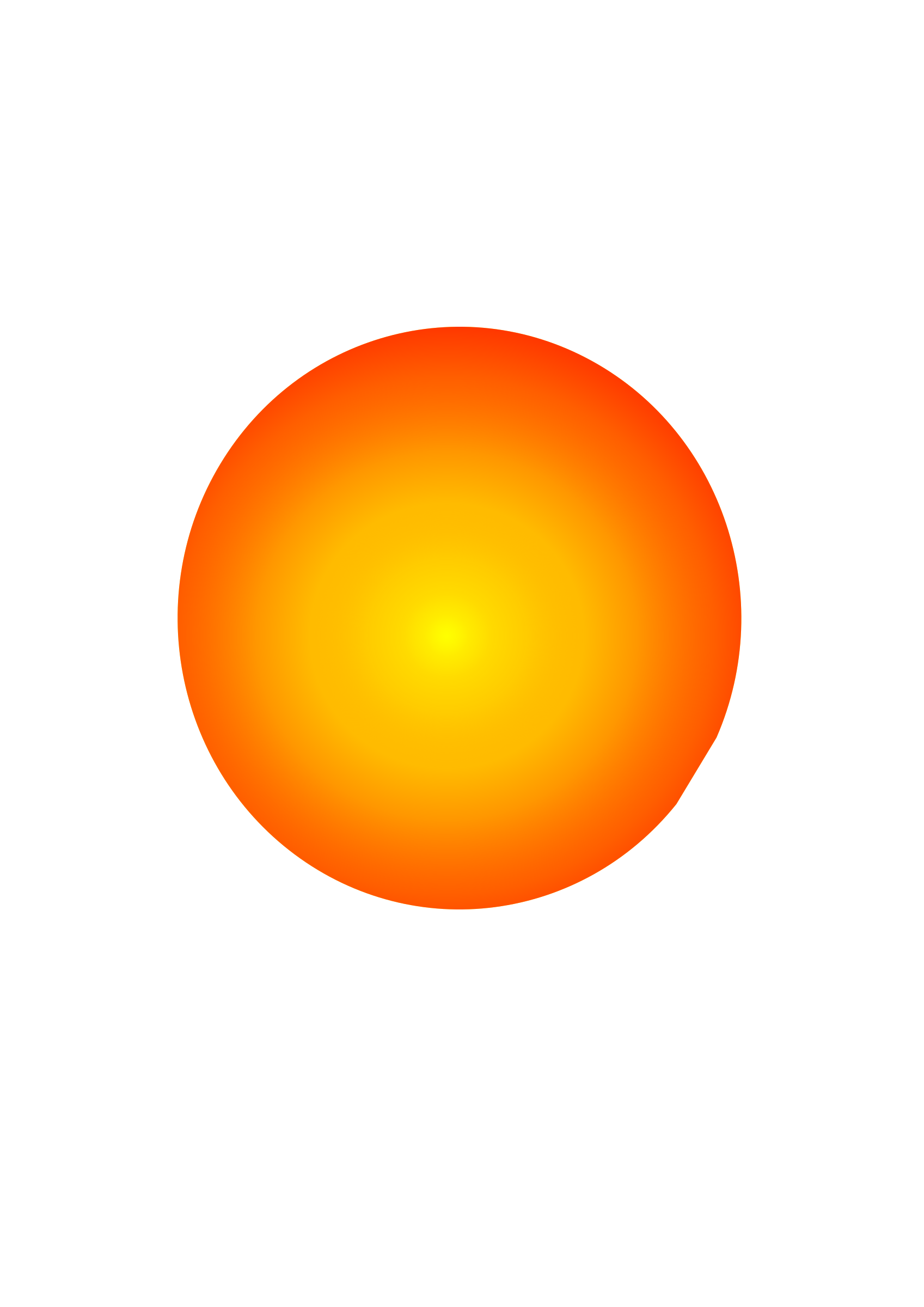 Cute clipart planet. My sun big image