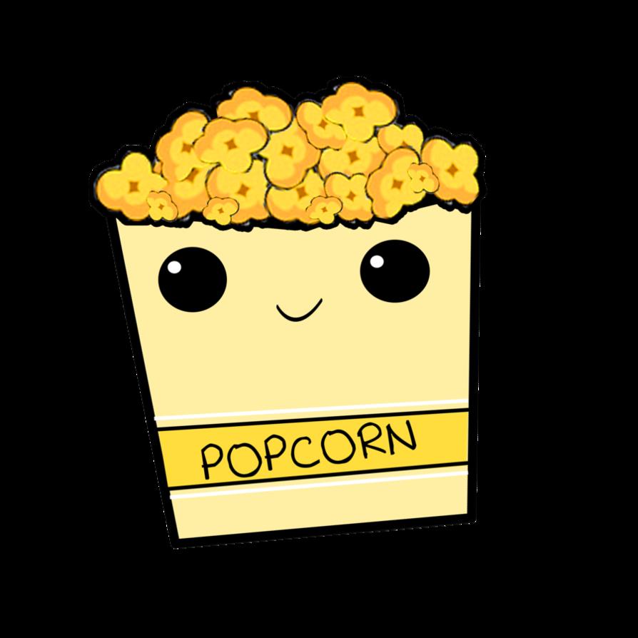 Clipart png popcorn. By bellathornealways on deviantart