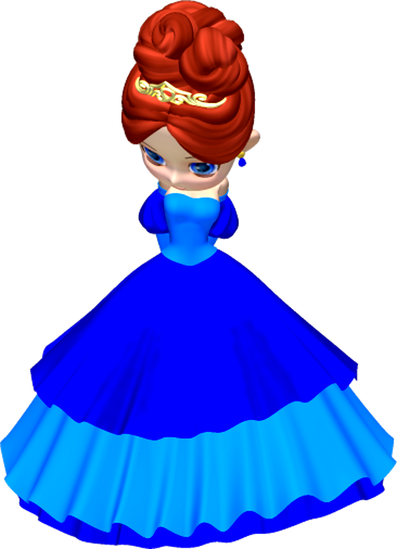 Number 1 clipart princess. In blue poser png