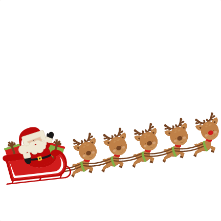 Sleigh clipart cute. Free transparent reindeer cliparts