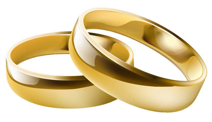 Linked wedding rings free. Feast clipart marriage