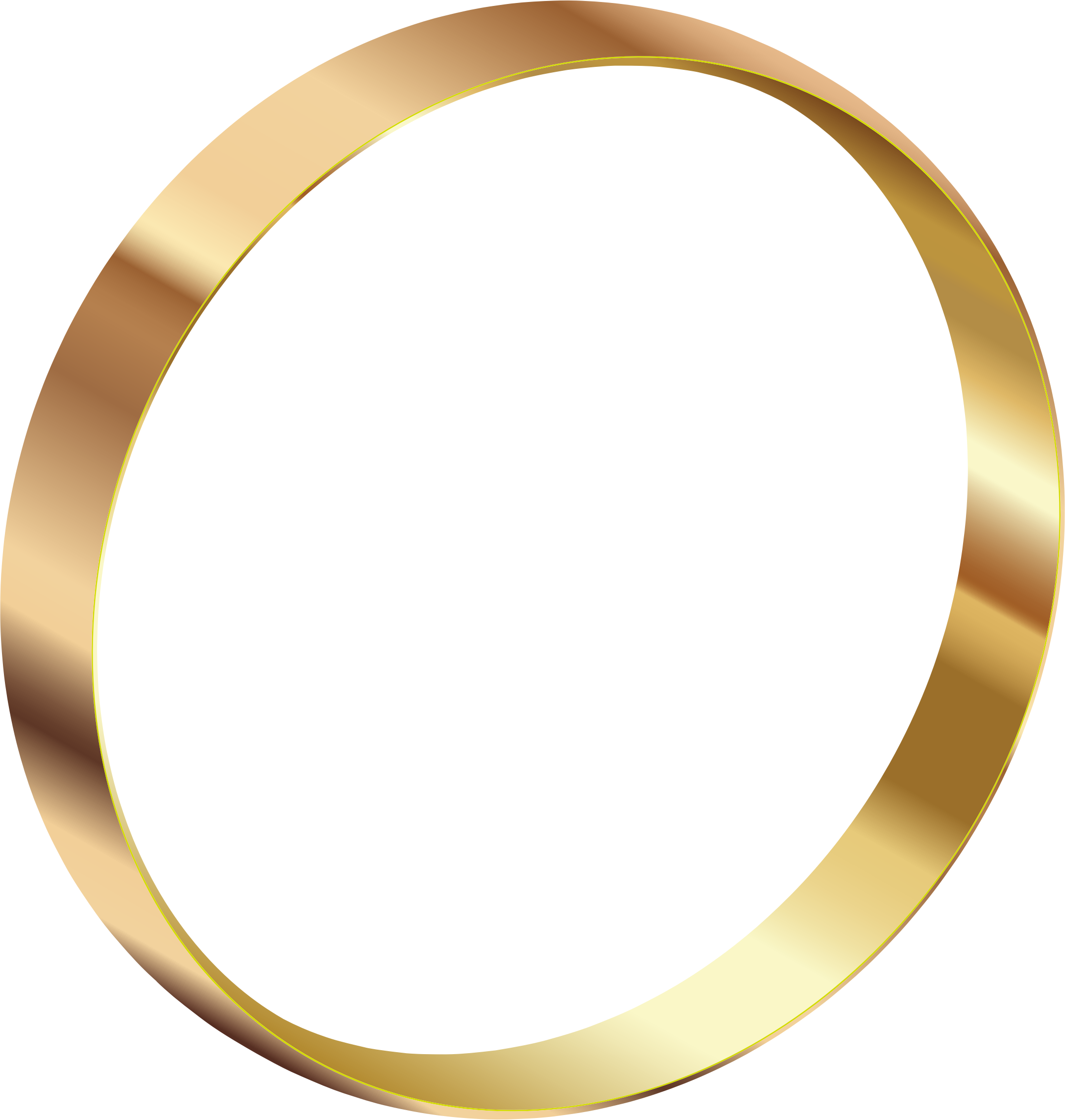 Gold clipart gears. Ring png image purepng