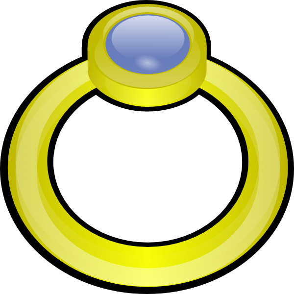 engagement clipart small ring