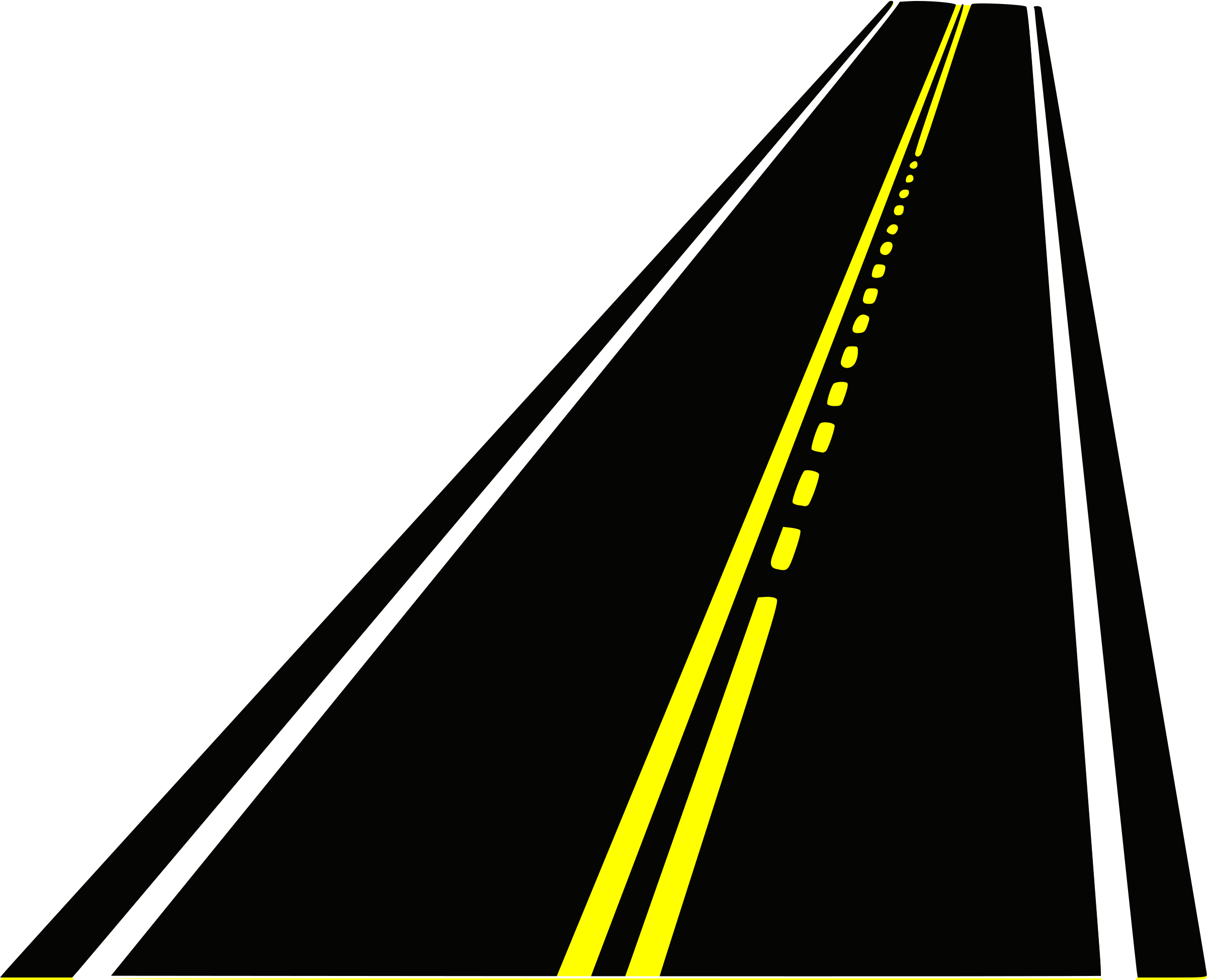 collection of vertical. Clipart road straight road