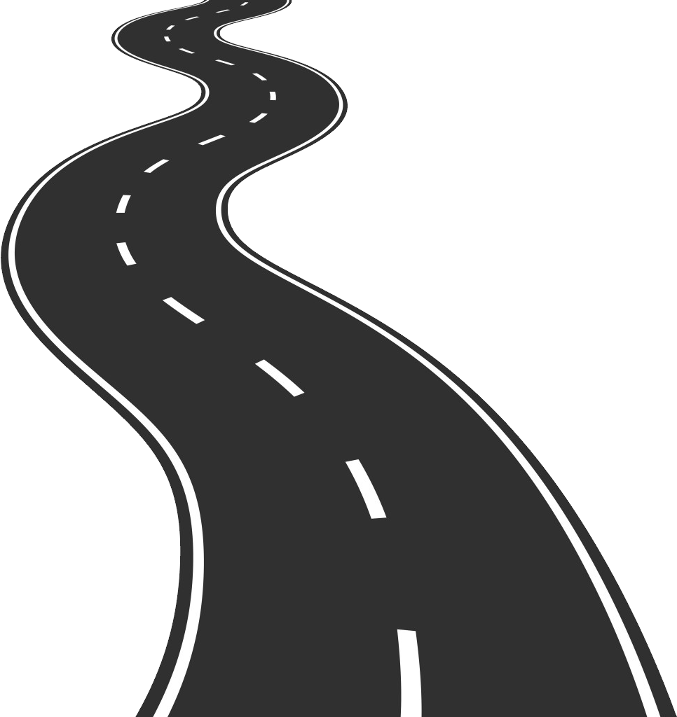 Road png images highway. Pathway clipart transparent