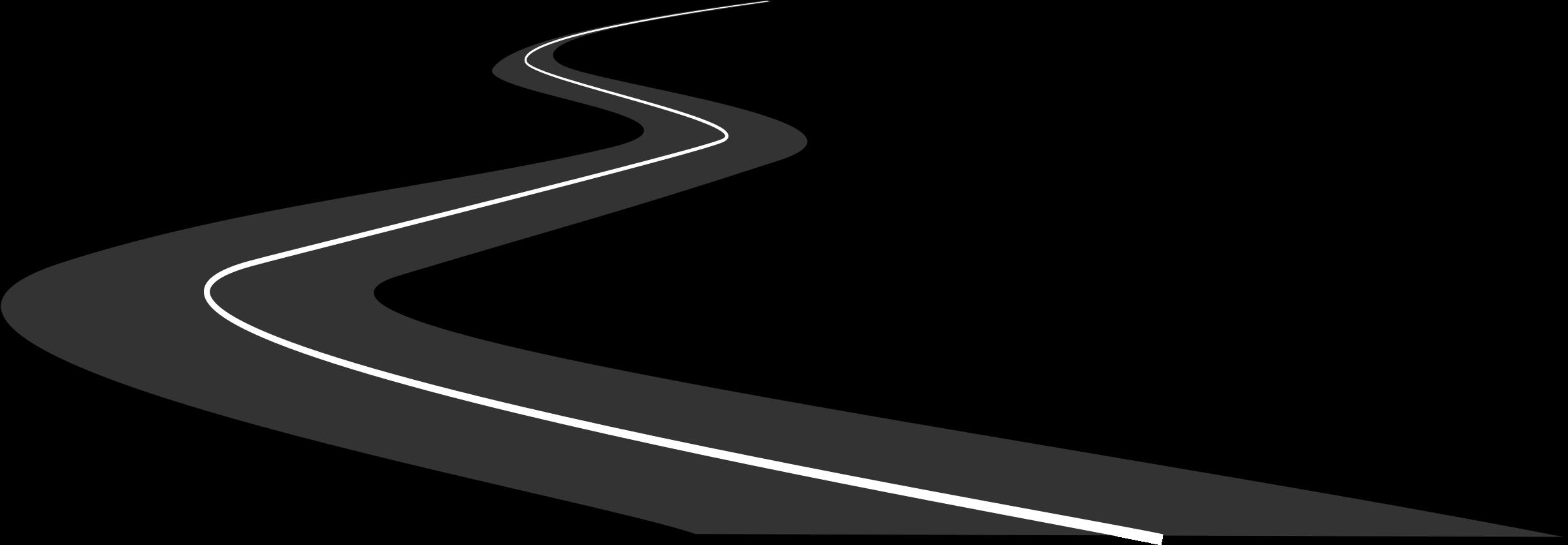 clipart road zigzag road