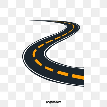 Road png vector psd. Trail clipart highway