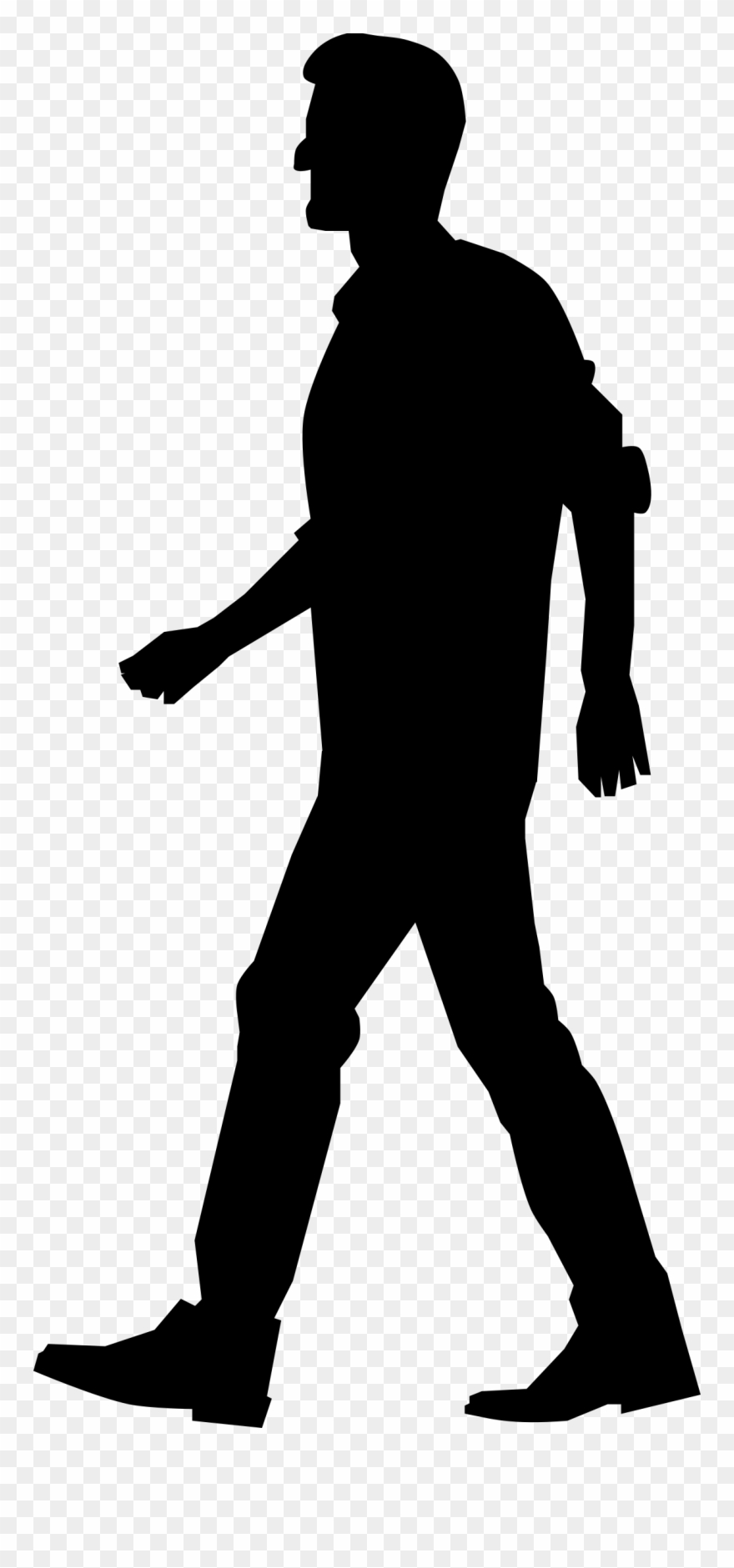 Clipart walking outline. Png people silhouette