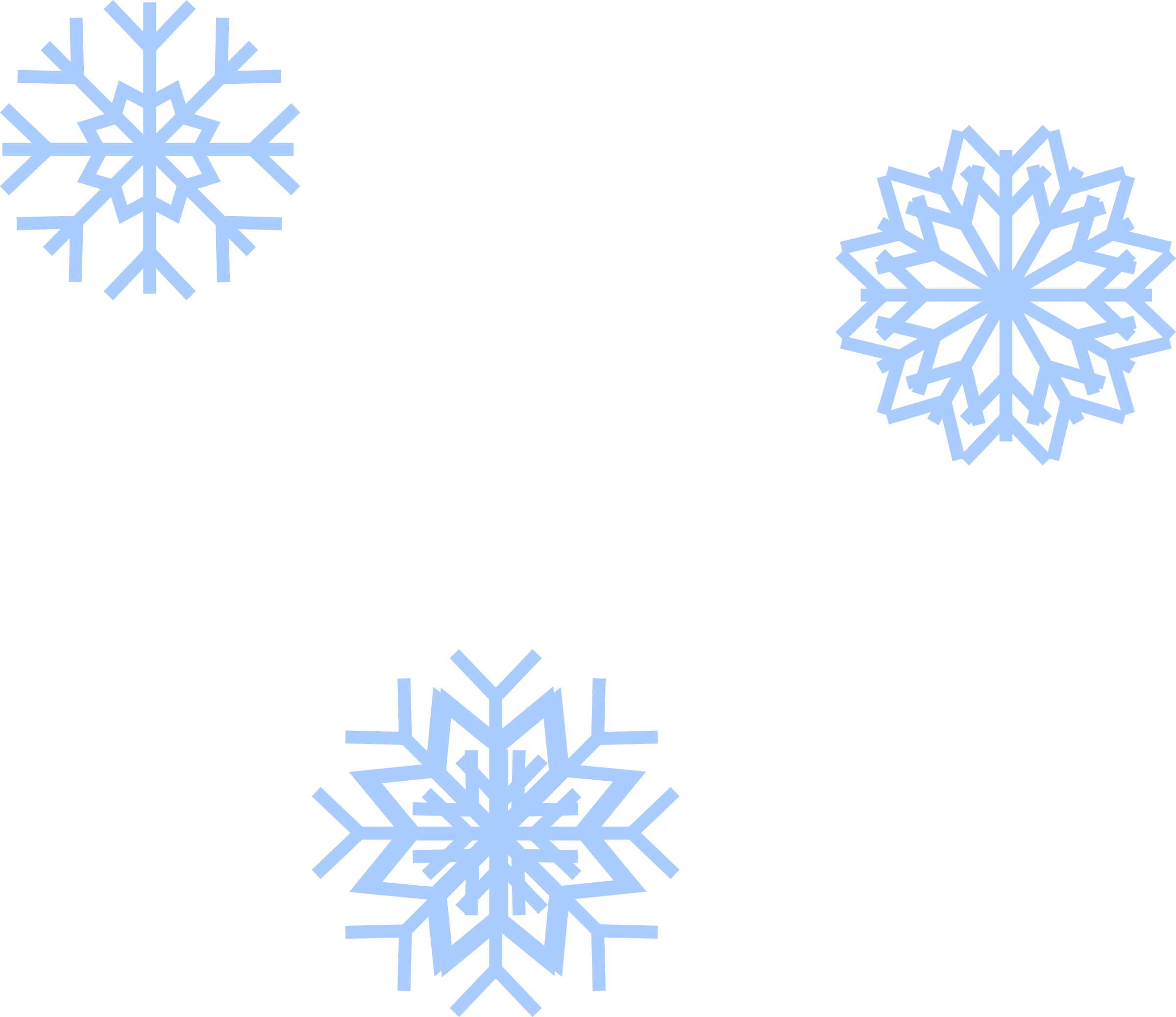 Snow flakes big image. Winter clipart flake